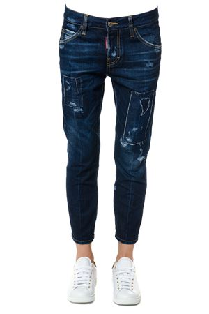JEANS LONDON IN DENIM DI COTONE AI 2017 DSQUARED2 | 4 | S75LA0936S30309470