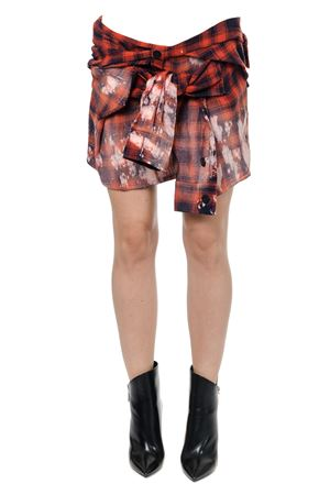 CHECK SHIRT SKIRT FW 2017 FAITH CONNEXION | 26 | W1401T000221411