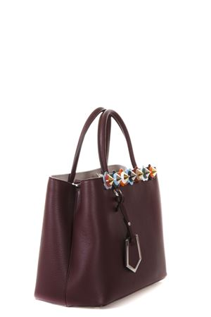 SMALL 2JOURS EMBELLISHED LEATHER BAG FW 2017 FENDI | 2 | 8BH2539YQF03D6