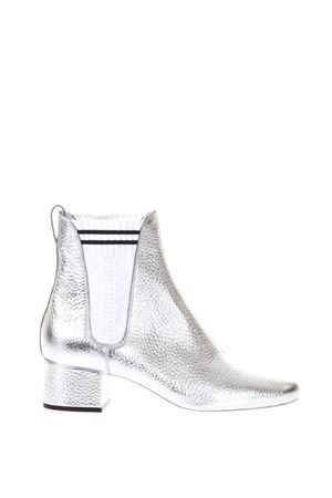 METALLIC LEATHER ANKLE BOOTS FW 2017 FENDI | 52 | 8T656299NF09O0