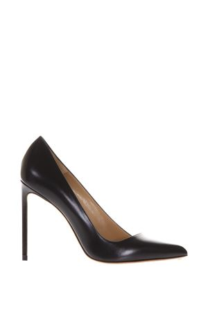 BLACK LEATHER PUMPS FW17 FRANCESCO RUSSO | 68 | RIP270001NERO