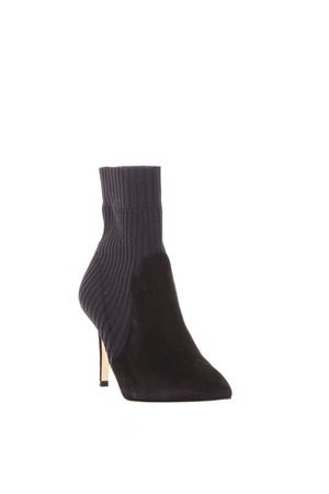KATIE KNITTED RIB & SUEDE BOOTIE FW 2017 GIANVITO ROSSI | 52 | G70374CKNNENE1
