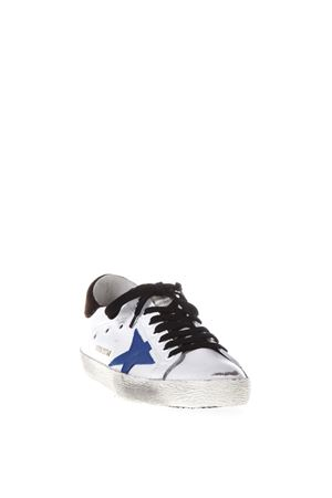 SUPERSTAR SUEDE & LEATHER SNEAKERS FW 2017 GOLDEN GOOSE DELUXE BRAND | 55 | G31MS5901C80