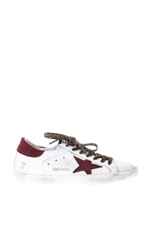 SNEAKERS SUPERSTAR IN PELLE E CAMOSCIO ai 2017 GOLDEN GOOSE DELUXE BRAND | 55 | G31MS5901C84