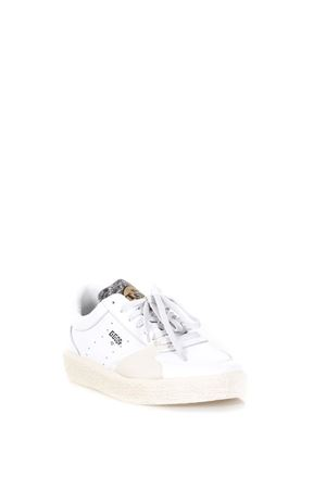 LEATHER LOW-TOP SNEAKERS WITH CONTRASTING DETAILS FW 2017 GOLDEN GOOSE DELUXE BRAND | 55 | G31MS7151LAN2