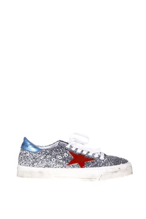 MAY GLITTER SNEAKERS FW17 GOLDEN GOOSE DELUXE BRAND | 55 | G31WS1271G9