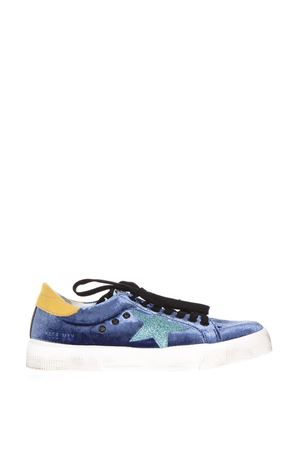 SNEAKERS MAY IN VELLUTO DI SETA AI17 GOLDEN GOOSE DELUXE BRAND | 48 | G31WS1271H1