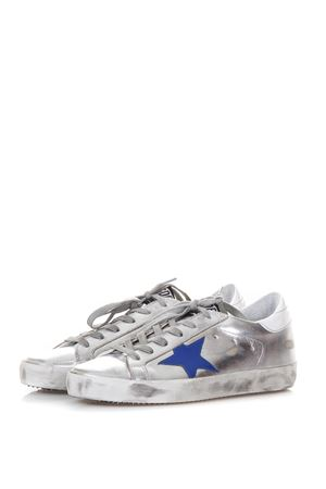 SNEAKERS \SUPERSTAR\ IN PELLE METALLIZZATA ai 2017 GOLDEN GOOSE DELUXE BRAND | 55 | G31WS5901C34