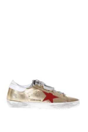 SUPERSTAR METALLIC LEATHER SNEAKERS FW 2017 GOLDEN GOOSE DELUXE BRAND | 55 | G31WS5901C35