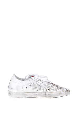 SUPERSTAR STAIN PAINTED SNEAKERS FW17 GOLDEN GOOSE DELUXE BRAND | 55 | G31WS5901D52