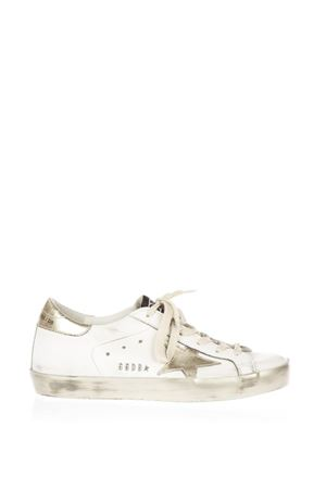 20MM SUPER STAR LEATHER SNEAKERS fw 2017 GOLDEN GOOSE DELUXE BRAND | 55 | GCOWS5901E37