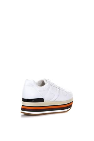 MAXI H222 LEATHER SNEAKERS FW 2017 HOGAN | 55 | HXW2830T543H73B001
