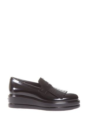 40MM H323 LEATHER LOAFERS FW 2017 HOGAN | 55 | HXW3230Z5801QAB999