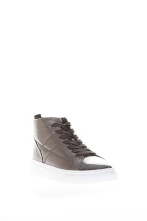 H342 QUILTED LEATHER SNEAKERS FW 2017 HOGAN | 55 | HXW3420J160HRJ3632