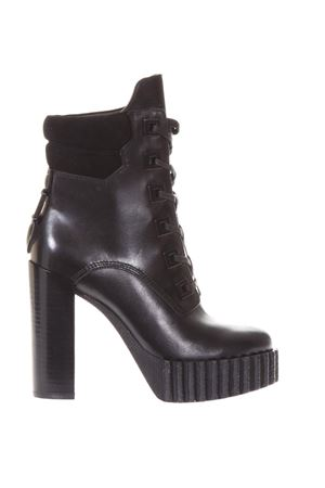 COTY LEATHER ANKLE BOOTS FW 2017 KENDALL+KYLIE | 52 | KKCOTY/01KKCOTYBLACK