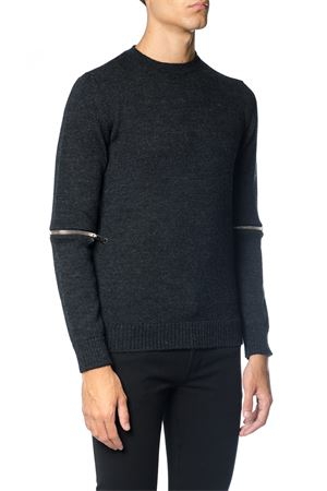WOOL SWEATER WITH ZIP FW 2017 LES HOMMES   16   LHD704ALD750A18990