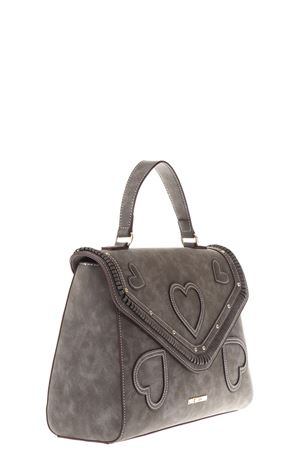 HEART TOTE BAG IN SUEDE FW 2017 LOVE MOSCHINO | 2 | JC4104PP14UNI001