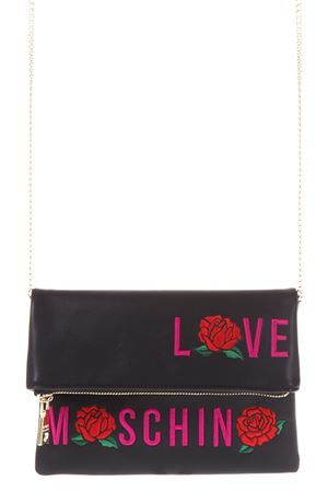 CROSSBODY WITH ROSES EMBROIDERED FW 2017 LOVE MOSCHINO | 2 | JC4124PP14UNI000