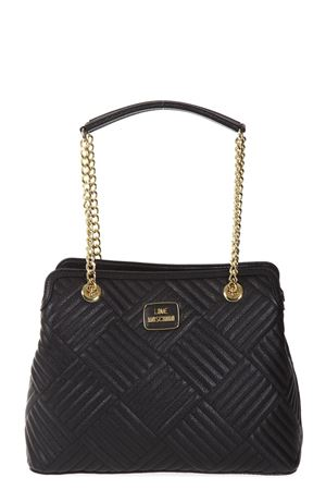 QUILTED QUILTED FAUX LEATHER BAG FW 2017 LOVE MOSCHINO | 2 | JC4215PP04UNI000