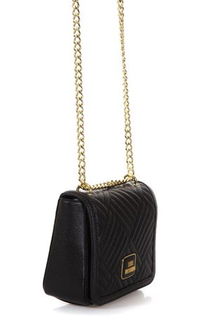 QUILTED FAUX LEATHER CROSSOVER BAG fw 2017 LOVE MOSCHINO | 2 | JC4217PP04UNI000