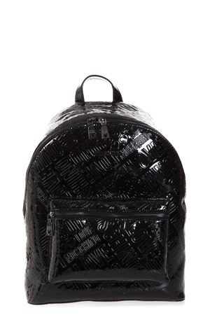 FAUX PATENT LOGOED BACKPACK FW 2017 LOVE MOSCHINO | 183 | JC4240PP04UNI000