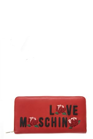 PRINTED LOGO WALLET FW 2017 LOVE MOSCHINO | 34 | JC5529PP14UNI500