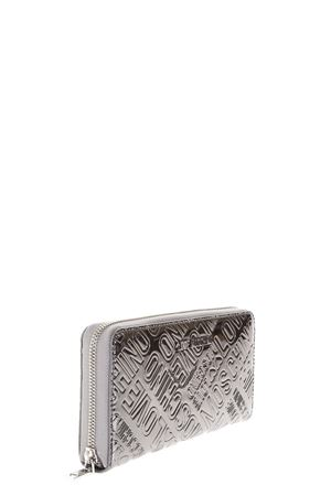 LOGOED SILVER PATENT CONTINENTAL WALLET fw 2017 LOVE MOSCHINO | 34 | JC5549PP04UNI910