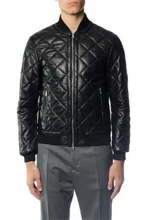 BOMBER IN PELLE TRAPUNTATA AI 2017 LOW BRAND | 27 | L1JFW171833911D001