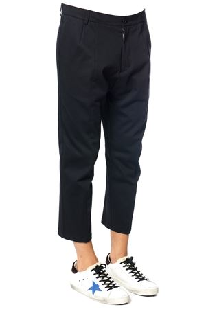 WOOL-COTTON BLEND CROPPED LENGHT TROUSERS FW 2017 LOW BRAND | 8 | L1PFW171833691D001