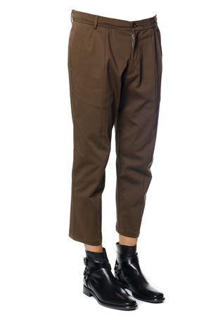 WOOL-COTTON BLEND CROPPED LENGHT TROUSERS fw 2017 LOW BRAND | 8 | L1PFW171833691M065