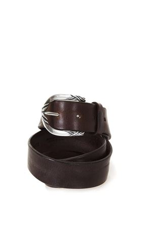 FROG SPORTY LEATHER BELT FW 2017 ORCIANI | 12 | 76721MORO