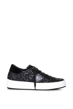 GLITTERED LEATHER LOW-TOP SNEAKERS FW 2017 PHILIPPE MODEL | 55 | CKLDOPERA LD GLITTERGC57