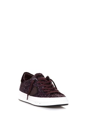 GLITTERED LEATHER LOW-TOP SNEAKERS FW 2017 PHILIPPE MODEL | 55 | CKLDOPERA LD GLITTERGG58