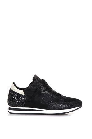 TROPEZ TECHNO FABRIC SNEAKERS FW 2017 PHILIPPE MODEL | 55 | TRLDTROPEZ LD GLITTERGM20