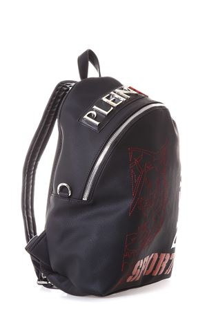 EMBROIDERED FAUX LEATHER BACKPACK FW 2017 PLEIN SPORT | 183 | MBA0090SXV001N02K
