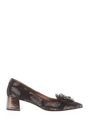 TAPESTRY LOAFERS WITH JEWEL FW 2017 RAS | 68 | 8759TAPESTRYBLACK