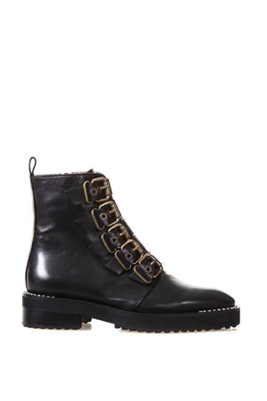 JEWEL BUCKLE BOOT FW 2017 RAS | 52 | 8829SMOOTH BLACK