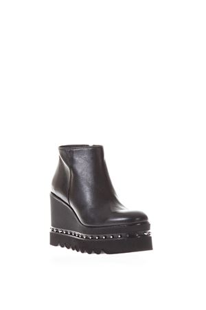 NAPPA HIGH WEDGE MOCASSIN FW 2017 RAS | 52 | 8874SMOOTHBLACK