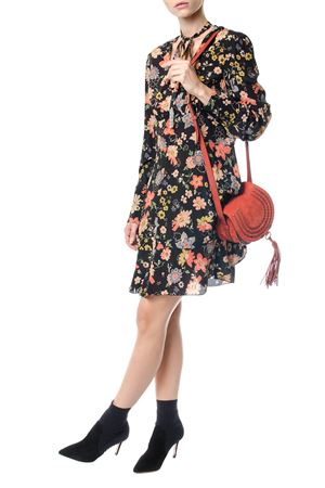ABITO IN FAILLE STAMPA CHELSEA FLOWER AI 2017 RED VALENTINO | 32 | NR3VA55532YUNI0NO
