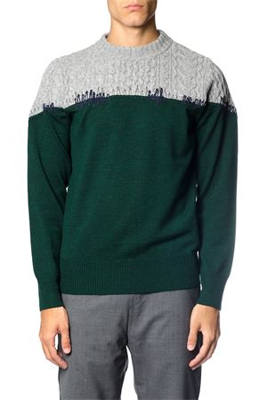 CABLE KNIT PANEL WOOL JUMPER FW 2017 SACAI   16   1701421M1705