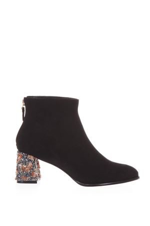 STELLA  ANKLE BOOTS WITH EMBELLISHED HEEL FW17 SOPHIA WEBSTER | 52 | SAM170411BLACK