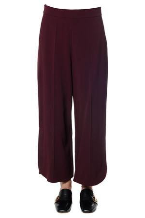 OVERSIZED VISCOSE CREPE TROUSERS fw 2017 SPORTMAX | 8 | 21360679000MIRTE004