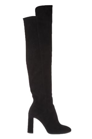 ELASTICATED HIGH BOOTS FW 2017 STUART WEITZMAN | 52 | ALLHYPED1BLACK