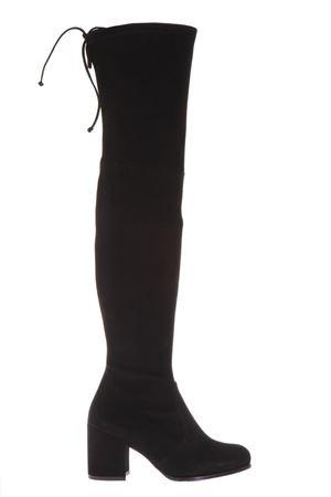 BLACK OVER-KNEES TIELAND BOOTS FW17 STUART WEITZMAN | 52 | TIELAND1BLACK