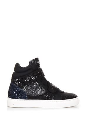HIGH-TOP GLITTER & SUEDE SNEAKERS FW 2017 THoMS NICOLL | 55 | 389VERSIONEC