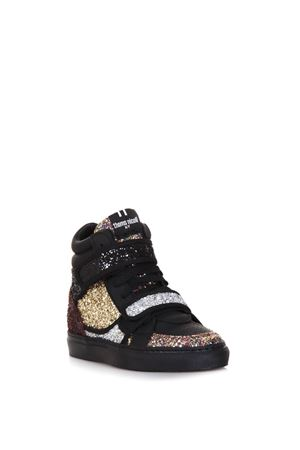 HIGH-TOP GLITTER & SUEDE SNEAKERS FW 2017 THoMS NICOLL | 55 | 389VERSIONED