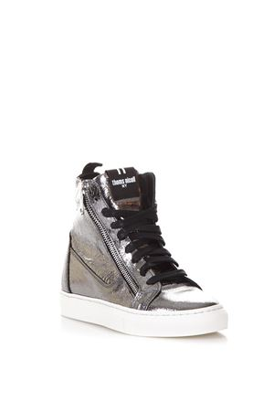METALLIC LEATHER HIGH-TOP SNEAKERS FW 2017 THoMS NICOLL | 55 | 391KRASTCANNA DI FUCILE