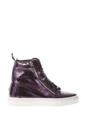SNEAKERS HIGH-TOP IN PELLE METALLIZZATA AI 2017 THoMS NICOLL | 55 | 391KRASTPRUGNA