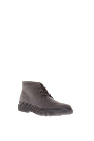 GRAY SUEDE DESERT BOOTS FW 2017 TOD