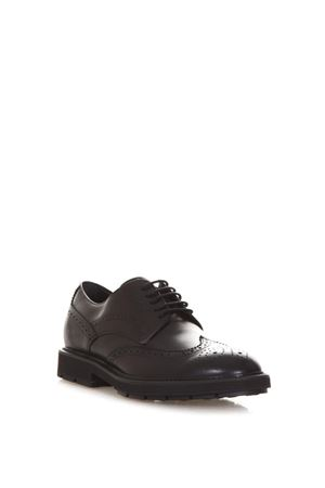 CALF LEATHER BROGUE LACE-UP SHOES FW 2017 TOD